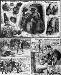 """""""Illustrated Police News - Jack the Ripper"""", British Library"""