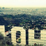 Los Angeles depuis le panneau Hollywood. Par James Gubera sur Flickr