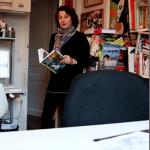 Catel dans son atelier © Les Nouvelles NEWS