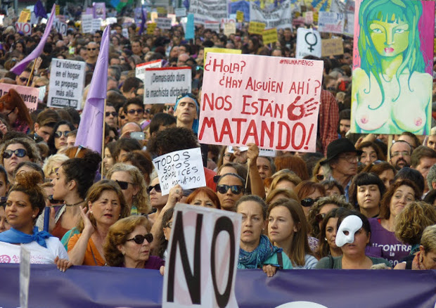 Marche du 7 novembre à Madrid contre les violences machistes © MundoPress (http://mundopress-agencia.blogspot.com.es)