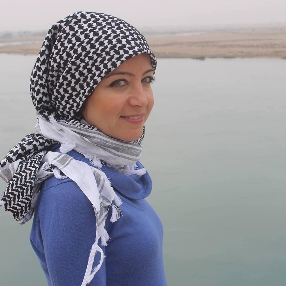 Zaina Erhaim à Deir Ezzour, Syrie, en 2013, par Hayyan Alyousouf