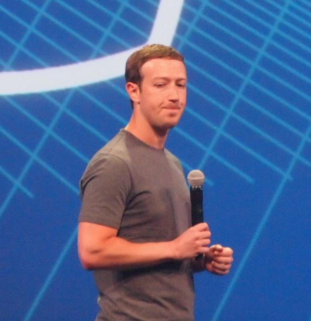 Mark Zuckerberg le 25 mars 2015. Par Ian Kennedy sur Flickr. Licence CC BY-SA 2.0