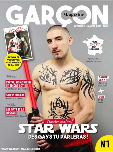 Une de Garçon Magazine