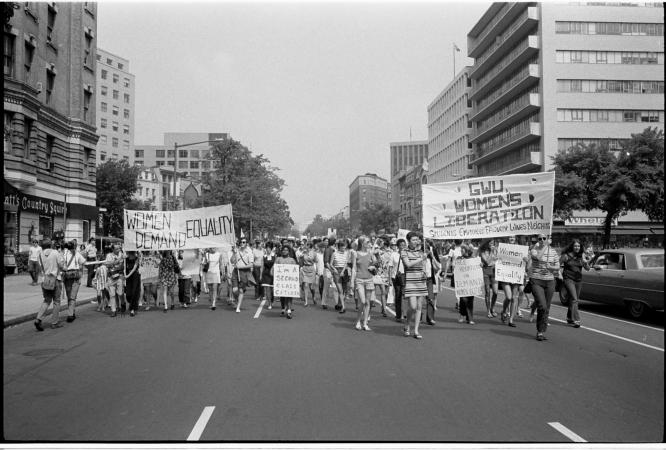 «Marche de Libération des Femmes» à Washington, D.C., 1970 (Photo Library of Congress)
