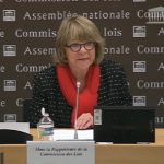Pascale Crozon devant la commission des Lois de l'Assemblée nationale le 16 novembre 2016