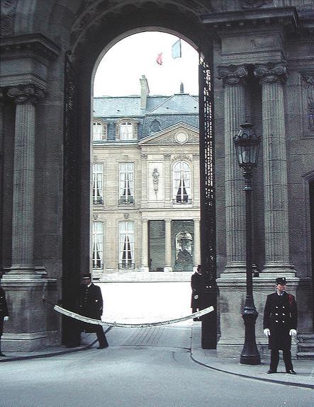 Palais de l'Elysée, 1983. ParOliBac sur Flickr (CC BY 2.0)