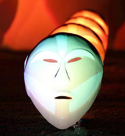 Bwindi Light Masks, Richi Ferrero. Par Fulvio Spada sur Flickr (CC BY-SA 2.0)