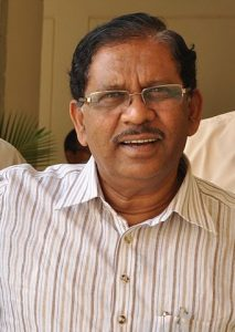 G. Parameshwara en 2012. Par Manjeshpv, via Wikimedia Commons (CC BY-SA 3.0).