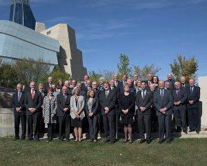 Les 39 membres du Conseil canadien de la magistrature