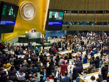 Ouverture de la 61ème CSW le 13 mars 2017 à l'ONU - UN Photo/Rick Bajornas