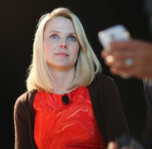 Marissa Mayer en 2013. Photo by Max Morse for Techrunch (CC BY 2.0)