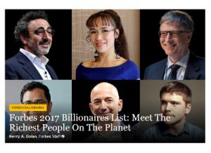 Un Nombre Record De Milliardaires Dans Le Monde 11 De Femmes Les